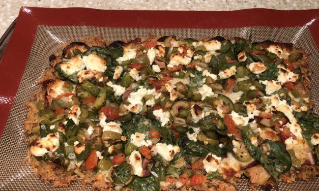 Zero-Carb Deep Dish Pizza Crust