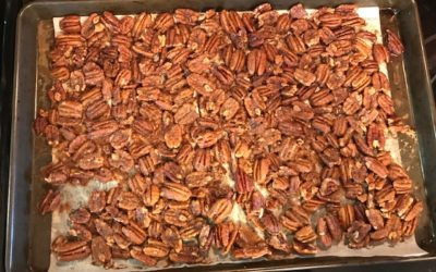 Spicy Keto Candied Pecans | Low Carb & Sugar Free