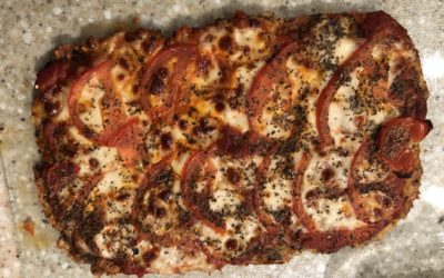 Zero Carb Pizza Crust   Crispy & Delicious!