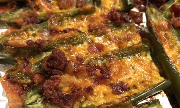 Keto Jalapeno Poppers | Cheesy, Bacon Goodness