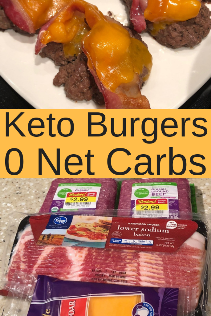 Keto Bacon Cheeseburgers | 0 Carb Burger Recipe