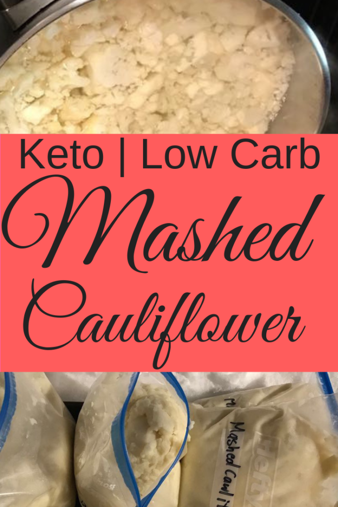 Low Carb Mashed Cauliflower - Keto Diet Potato Substitute