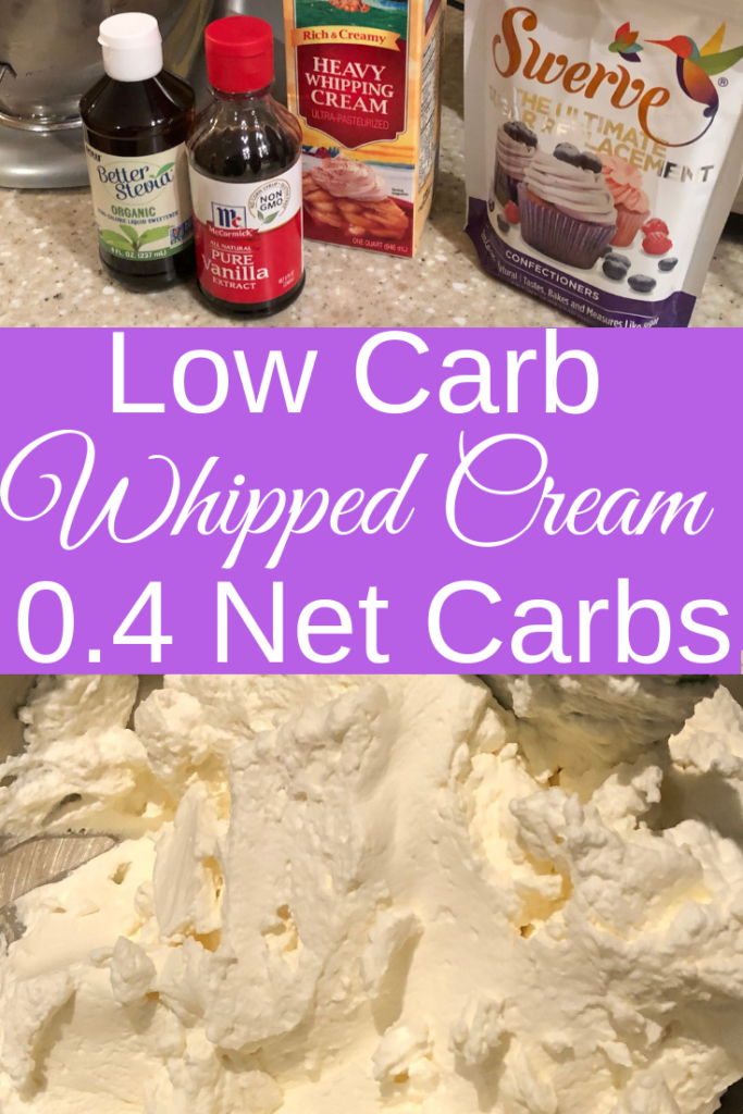 Keto Whipped Cream Recipe | Keto Dessert Recipe